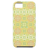 Retro Square Pattern Apple iPhone 5 Cover