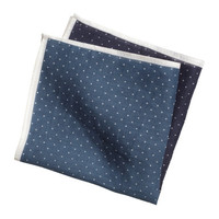 H&M - Linen Hankerchief // Blue & Navy
