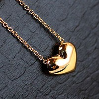 Lovely Heart Fashion Necklace