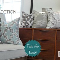 Pillow Covers - NEW FABRICS!