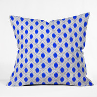 Holli Zollinger Dot Ikat Throw Pillow