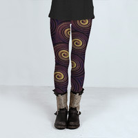 Circles Pattern by Daniel Ferreira-Leites (Leggings)