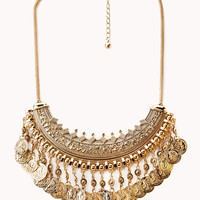 Worldly Statement Necklace