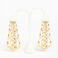 BRAIDED EARRINGS
