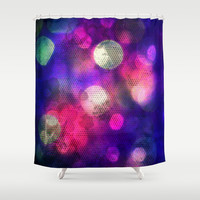 Night Life Shower Curtain by Yoshigirl
