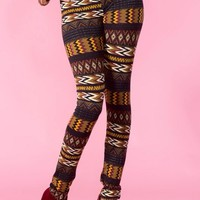 Aztec Print Leggings #aztec #tribal #chevron #love #want #need #wish #cute