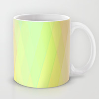 Re-Created Vertices No. 20 Mug by Robert S. Lee