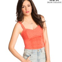 Lace Corest Cami