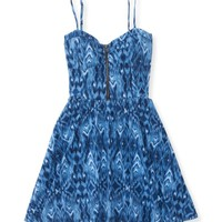Ikat Fit & Flare Dress