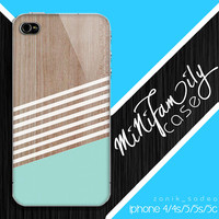 Geometric mint case, wood iphone case, iphone 4 case iphone 5c case, samsung gaxaly S3 case, samsung gaxaly S4 case