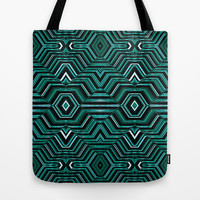 Hypnotic Pattern  Tote Bag by Danflcreativo