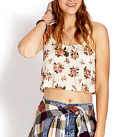 Free Spirit Flounced Crop Top