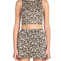 Bouquet Crop Tank