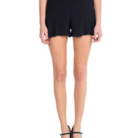 Lush Clothing - High Waisted Flared Shorts