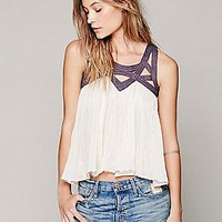 FP ONE Latticed Lurex Tank