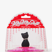 Cat Doily Cup Cap