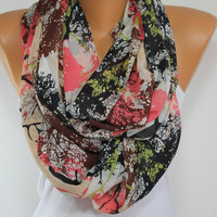 Silky Chiffon Scarf So Soft Lightweight Scarf Wrap Tree Print Scarf Spring Scarf Summer Scarf Mother's Day Gift For Mom ESCHERPE