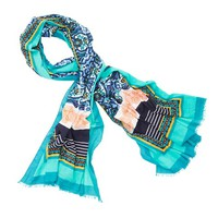 LOFT Beach Mixed Print Pareo
