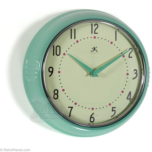 Clocks By Infinity Retro Kitchen Wall From Home