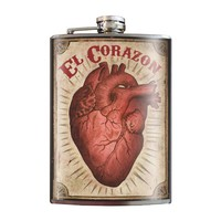 El Corazon flask by Trixie & Milo