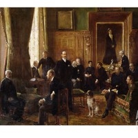 The Salon of the Countess Potocka, 1887 Giclee Print by Jean Béraud at Art.com
