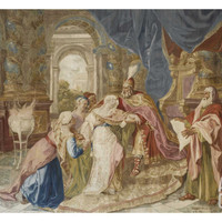 Appartement du Pape, appartement Louis XV, Grand Salon Giclee Print by Antoine Coypel at Art.com