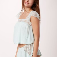GOLDEN GIRL FLUTTER SLEEVE CAMI