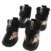 Checked Dog Shoes- Apparel - Shoes/Socks Posh Puppy Boutique