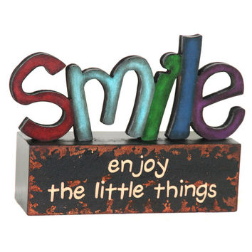 River Cottage Gardens Smile Table Top Art