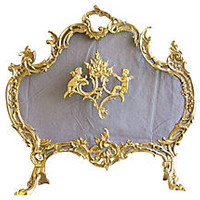 1950s French-Style Fireplace Screen