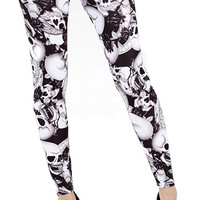 Riley Leggings | Gothic Clothing | Emo clothing | Alternative clothing | Punk clothing - Chaotic Clothing