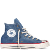 Blue Chuck Taylor Washed Canvas Shoes : Chuck Taylors | Converse.com