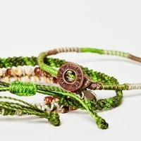 Wakami Adventures Outdoors Bracelet Set - Urban Outfitters
