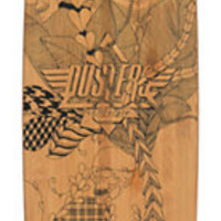 Dusters Lella Bamboo Drop Through 38 Longboard Complete