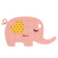 Cute Elephant with Love Heart Phone Shell Case for Iphone4/4s