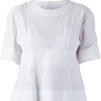 ALEXANDER WANG structured top