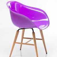Armrest Chair in Purple - Urban Outfitters