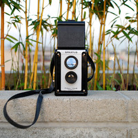 Vintage Camera Spartis FullVue Twin Lens Reflex Chicago by vint