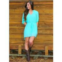 Live Well Tunic-Mint