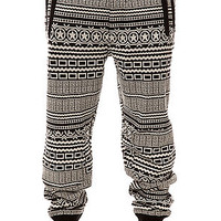 The Needle Sweater Pants in Caviar