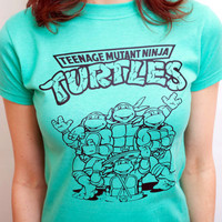 Vintage Teenage Mutant Ninja Turtles Tee
