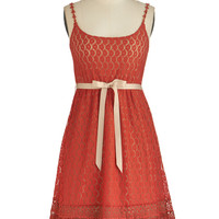 Ryu Pretty as Poppies Dress | Mod Retro Vintage Dresses | ModCloth.com