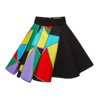 Multicolor Printed Skirt by Fausto Puglisi - Moda Operandi