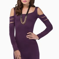 Midnight Poison Bodycon Dress $35