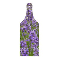 Purple Lavender Glass Cutting Board