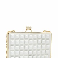 Pyramid Studded Clutch