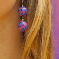 HAWAIIAN FLOWER SOUL EARRINGS