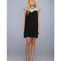 Ted Baker Wastila Lace And Pleats Dress