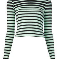 T BY ALEXANDER WANG striped shirt
