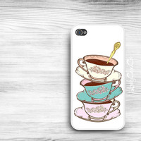 Teacup iPhone 5s Case / iPhone 5 Case / iPhone 4s Case / iPhone 4 Case / Samsung Galaxy S3 S4 Case / iPad Case